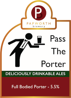 Pass The Porter pump-clip